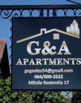 Apartments G&A